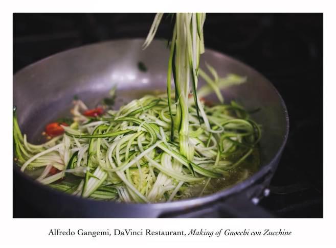 making of gnocchi con zucchine 2 (Copy)