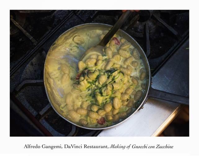 making of gnocchi con zucchine 3 (Copy)