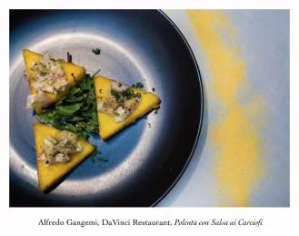 polenta con salsa ai carciofi (Copy)